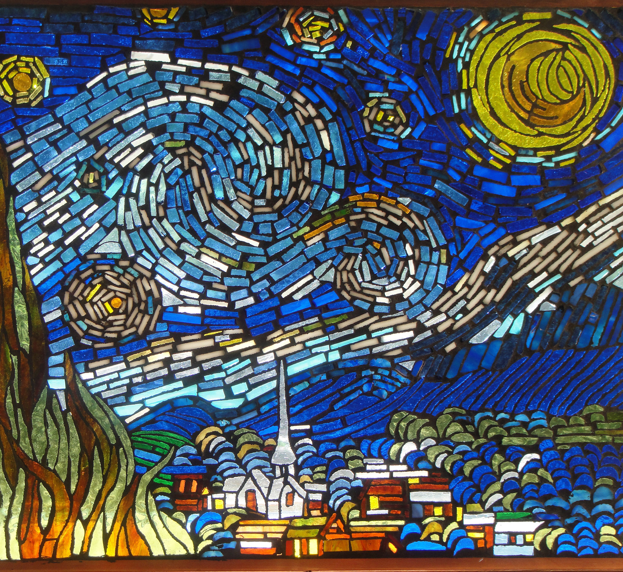 Courtesy of Waco Cultural Arts Fest - Stained Glass by Cindy Radle